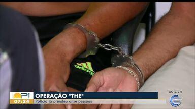 Operação da Polícia Civil prende 18 pessoas em Teresina (PI) e Timon (MA) - Operação da Polícia Civil prende 18 pessoas em Teresina (PI) e Timon (MA)
