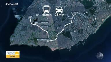 Câmara de Vereadores promove encontro para apresentar o projeto do BRT, em Salvador - Trechos dos trens devem ficar prontos até o ano de 2020.