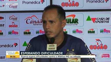 Meia Alejandro Guerra fala sobre a preparação para o jogo de sábado contra o Atlético-MG - Jogador espera dificuldade durante a partida.