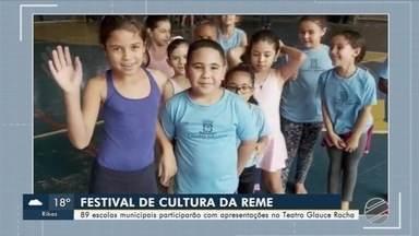 Escolas municipais de Campo Grande participam do Festival de Cultura - Estudantes de 89 escolas participam do evento que será no Teatro Glauce Rocha.