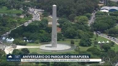 Parque Ibirapuera completa 65 anos - A programação especial de aniversário vai até o domingo (25).