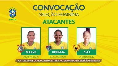 Pia Sundhage convoca para estreia no comando da Seleção Feminina - Pia Sundhage convoca para estreia no comando da Seleção Feminina