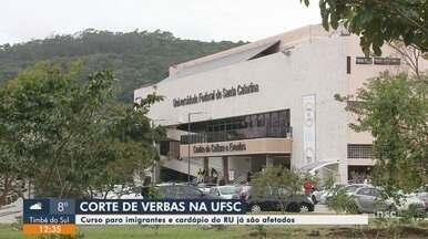 UFSC tem programas afetados pelo corte de verbas - UFSC tem programas afetados pelo corte de verbas