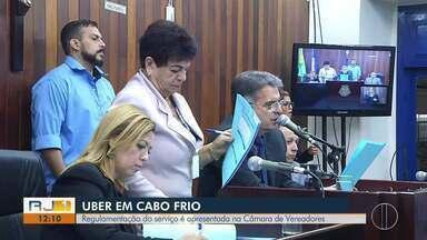 Regulamentação do transporte por aplicativo é apresentado na Câmara de Vereadores - Caso aconteceu em Cabo Frio.