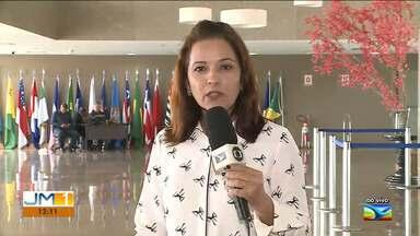 Aprovados em concurso público da Aged em 2018 pedem que o governo faça a nomeação - Candidatos fizeram uma manifestação nesta quarta-feira (21) na Assembleia Legislativa em São Luís.