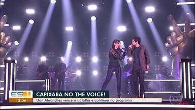 Capixaba no The Voice: Dan Abranches é escolhido de novo por Lulu Santos - Veja como foi a apresentação do capixaba na noite desta terça-feira (20).