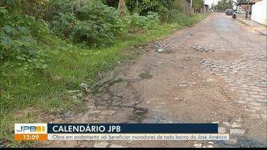Saneamento : obra vai beneficiar moradores do José Américo - Equipe do Calendário acompanha as reivindicações dos moradores.