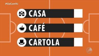 """Envie seu vídeo para o """"Casa, Café e Cartola"""" - O WhatsApp para envio é o (71) 99688-1423."""