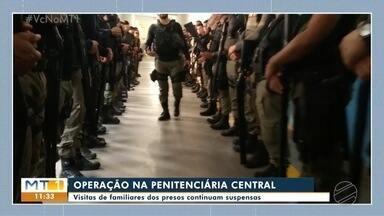 Novas imagens da Operação da Penitenciária Central do Estado - Novas imagens da Operação da Penitenciária Central do Estado.