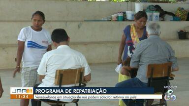 """Venezuelanos em situação de rua podem solicitar adesão ao programa de repatriação em RR - Projeto """"Volta à Pátria"""" é desenvolvido pelo governo da Venezuela e ocorre em diversos países da América do Sul."""
