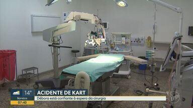 Jovem de Recife que perdeu o couro cabeludo está confiante para cirurgia deste sábado (24) - O médico americano que vai ajudar na operação desembarca em Ribeirão Preto nesta sexta-feira (23).