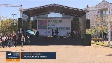 'Parque das Profissões' oferece orientação vocacional para jovens em Florianópolis - 'Parque das Profissões' oferece orientação vocacional para jovens em Florianópolis