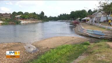 Estiagem diminui o volume dos rios no sul do Maranhão - O Rio Balsas, por exemplo, possui muitos pontos com volume de água bastante reduzido.