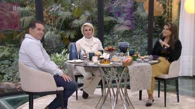 Programa de 23/08/2019 - Ana Maria Braga recebe o humorista Leandro Hassum para o café da manhã e ensina a receita de um delicioso pastel de carne