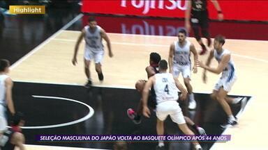 Seleção masculina do Japão volta ao basquete olímpico após 44 anos - Seleção masculina do Japão volta ao basquete olímpico após 44 anos