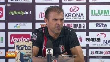 Milton Mendes desfaz polêmica com Náutico, em entrevista no Arruda - Técnico aproveitou e escalou o time do Santa Cruz para jogo decisivo contra o Náutico