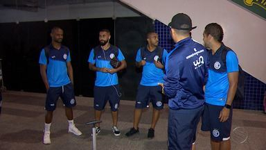 Confiança embarca para Fortaleza para encarar o Ferroviário - Partida válida pela última rodada da Série C vale classificação para a equipe proletária.