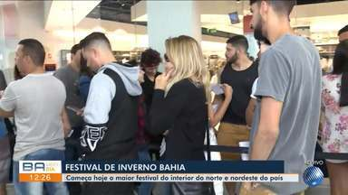 O Festival de Inverno Bahia começa nesta sexta, 23 e as expectativas estão em alta - A abertura dos portões está prevista para19h, na Cidade da Música, em Vitória da Conquista.