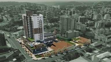 Bento Gonçalves vai receber empreendimento de R$ 147 milhões - Shopping a céu aberto ficará na área central da cidade.
