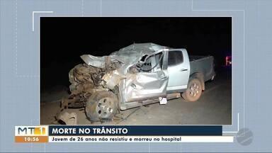 Jovem de 26 anos morre após acidente envolvendo quatro veículos - Jovem de 26 anos morre após acidente envolvendo quatro veículos