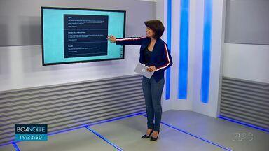 Veja as mensagens do pessoal de casa no Boa Noite Paraná - Muita gente envia mensagens durante o jornal comentando as reportagens ou sugerindo assuntos.