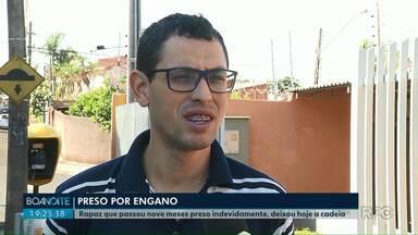 Nove meses depois de ser preso por engano homem deixa a cadeia em Londrina - Ele foi preso por suposta participação numa dupla tentativa de homicídio no ano passado.