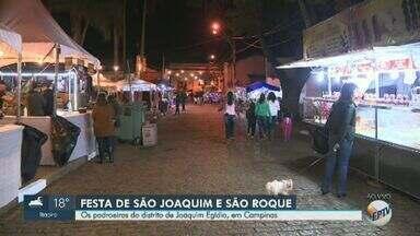 'Festa dos Padroeiros' começa em Joaquim Egídio nesta sexta - Evento em homenagem a São Joaquim e São Roque acontece até domingo (25).
