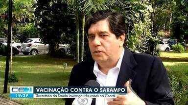 Suspeita de sarampo e caso de meningite confirmado no Ceará - Confira mais notícias em g1.globo.com/ce