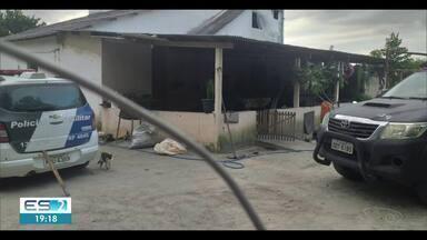 Policiais civis fazem operação para prender envolvidos em assaltos a fazendas no ES - Operação aconteceu em Pinheiros e Boa Esperança.
