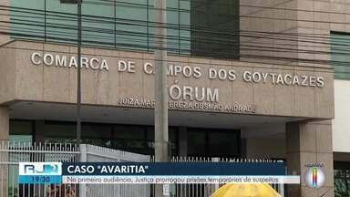 Justiça prorroga prisões temporárias de todos os suspeitos da operação Avaritia - Ao todo, foram presos cinco suspeitos de terem roubado e sequestrado empresário e esposa.