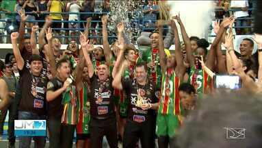 Sampaio Basquete conquista a Liga de Basquete Feminina - Tricolor se tornou bicampeão da competição. A torcida foi grande e fez muita diferença.