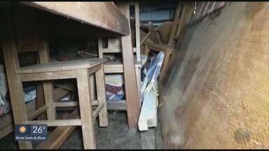 Homem é preso com materiais furtados em casa em São João Batista do Glória, MG - Homem é preso com materiais furtados em casa em São João Batista do Glória, MG