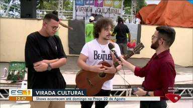 Mais de mil apresentações agitam a Virada Cultural em Linhares - Evento é gratuito.