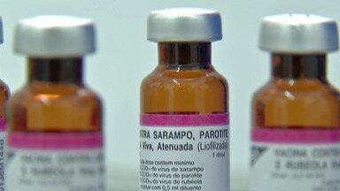 Suzano imuniza população contra sarampo - Ação deste sábado (24) aconteceu no Boa Vista.