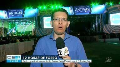 Forró das Antigas anima a Arena Castelão - Saiba mais em g1.com.br/ce