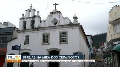 Igrejas de Angra dos Reis são vítimas de furto e invasões - Comunidade se preocupa com casos recorrentes.