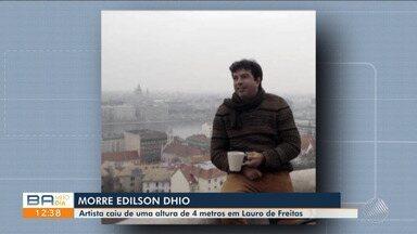 Morre cantor e compositor Edilson Dhio, que participou de projetos musicais da TV Sudoeste - O artista morreu na noite de segunda-feira (26).