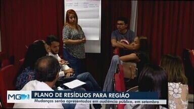 Uberaba discute e elabora plano regional de gestão de resíduos sólidos - O Aterro Sanitário do município recebe resíduos de oito cidades da região
