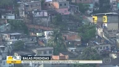 Polícia investiga dois casos de balas perdidas em comunidades do Rio - Morador foi atingido no Vidigal, e mulher foi baleada no Rio Comprido.