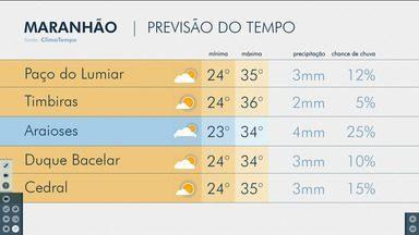 Confira as variações do tempo nesta quarta-feira (28) no Maranhão - Veja como deve ficar o tempo e a temperatura em São Luís e no Maranhão.