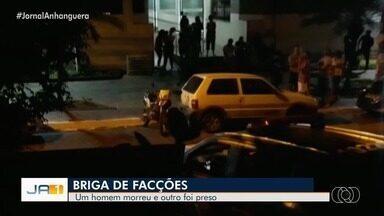 Rotam troca tiros com homem que acaba morto, em Goiânia - Segundo investigações, ele era alvo de facção rival.
