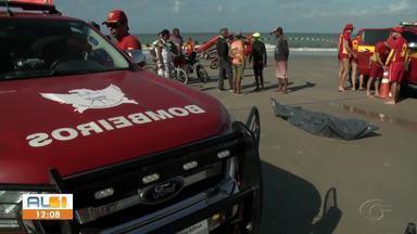 Corpo de adolescente que se afogou na Praia do Sobral é encontrado - Bombeiros buscaram por vítima por quase 3 dias.