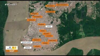 21 bairros de Belém e Ananindeua terão o fornecimento de água interrompido nesta quarta - 21 bairros de Belém e Ananindeua terão o fornecimento de água interrompido nesta quarta