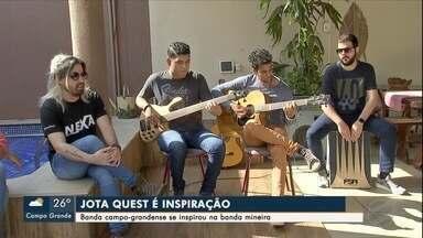 Conheça banda de Campo Grande que se inspira no Jota Quest - Banda mineira é a atração principal do Estação Morena 2019.