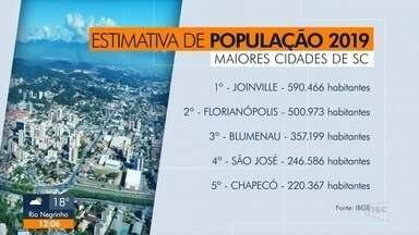 Araquari tem maior taxa de crescimento em SC - Araquari tem maior taxa de crescimento em SC