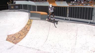 Fadinha do Skate se destaca na etapa baiana do Circuito Brasileiro de Skate - A maranhense Rayssa Leal, busca uma vaga nas olimpíadas de Tóquio em 2020.