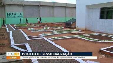 Projeto de ressocialização dá oportunidades a detentos de Juazeiro do Norte - Saiba mais em g1.com.br/ce