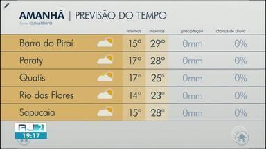 Meteorologia prevê quinta-feira nublada no Sul do Rio - Dia será sem chuva em algumas cidades da região.