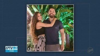 Namorado de jovem que perdeu couro cabeludo em acidente fala de rotina no hospital - Ela está internada em Ribeirão Preto.