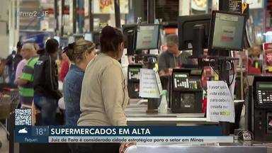 Setor supermercadista registra crescimento em Juiz de Fora - Área, que emprega quase 200 mil pessoas em Minas Gerais, deve crescer 4% em 2019.